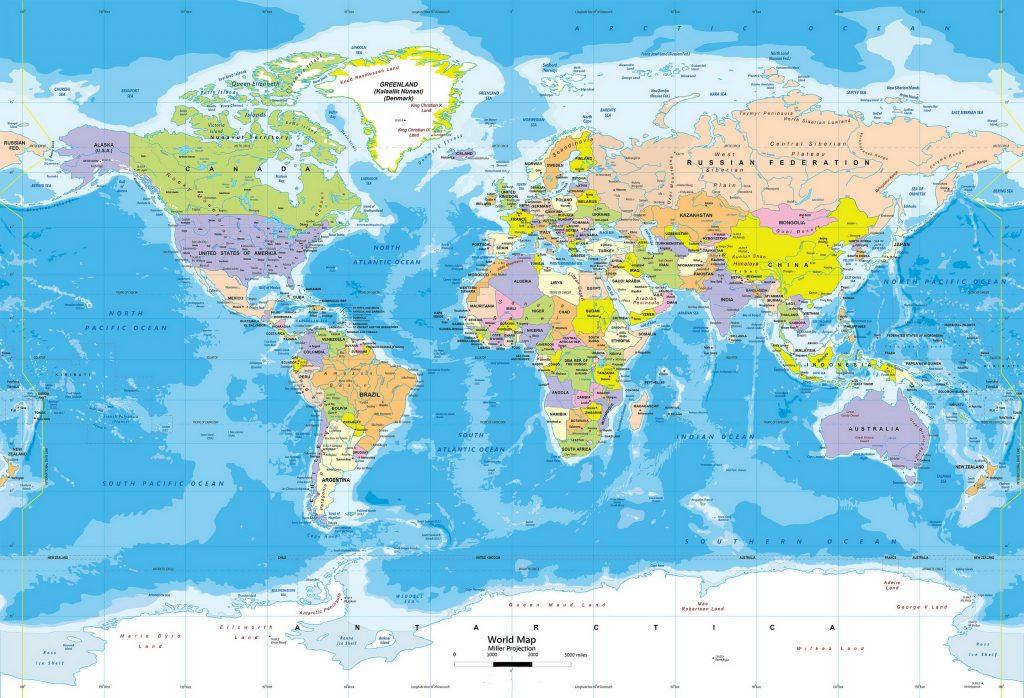 Mapa Mundi Moderno
